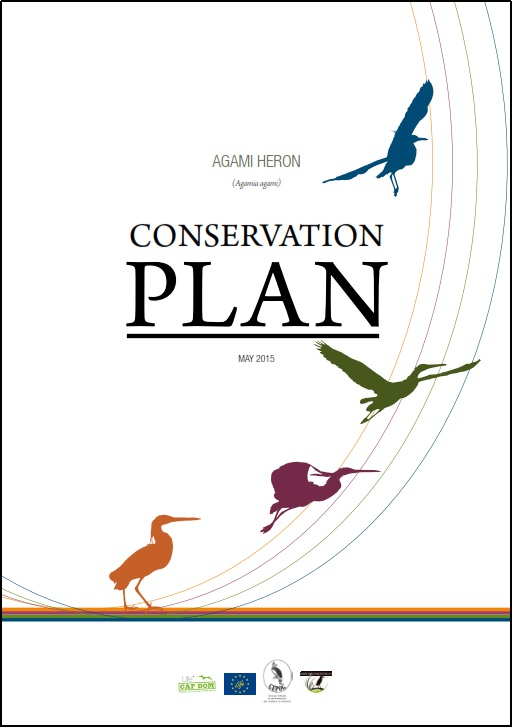 Agami heron conservation plan cover