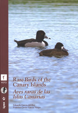 Cover Rare Birds of the Canary Islands
