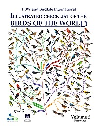 HBW and Birdlife International Illustrated Checklist of the Birds of the World, Volume 2 : Passerines.